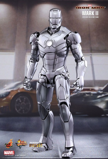main photo of Movie Masterpiece Diecast Iron Man Mark II