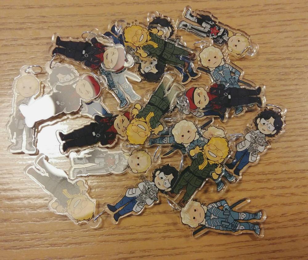 The Odd Gang Charm Kazuhira Miller My Anime Shelf We stride forward on the bones of our fallen. the odd gang charm kazuhira miller my