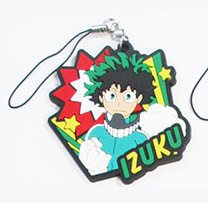 main photo of My Hero Academia Rubber Charm: Midoriya