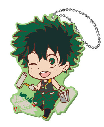 main photo of My Hero Academia Toji Colle Rubber Mascot Vol.2: Midoriya
