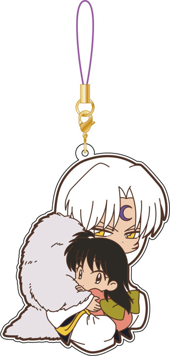 main photo of Rumic Collection Rubber Strap Collection 4th SEASON #B: Sesshomaru & Rin