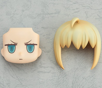 main photo of Nendoroid More Face Swap Riyo face: Saber Ver.