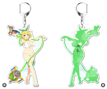main photo of Senran Kagura PEACH BEACH SPLASH Acrylic Keychain: Ryouna