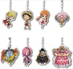photo of One Piece Metal Charm Strap Whole Cake Island Hen : Monkey D. Luffy