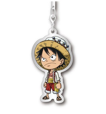 main photo of One Piece Metal Charm Strap Whole Cake Island Hen : Monkey D. Luffy