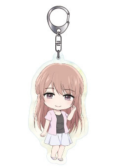 main photo of Nendoroid Plus Acrylic Keychain Kuzu no Honkai: Minagawa Akane