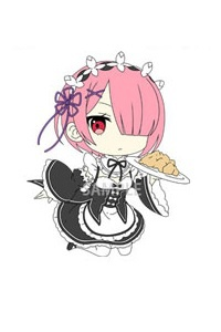 main photo of Re:ZERO Starting Life in Another World Trading Rubber Strap: Ram