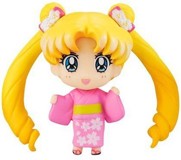 main photo of Petit Chara! Bishoujo Senshi Sailor Moon Minna de Omatsuri Hen Sakura Ver: Tsukino Usagi