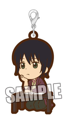 main photo of Gintama Trading Rubber Strap Part.2: Katsura