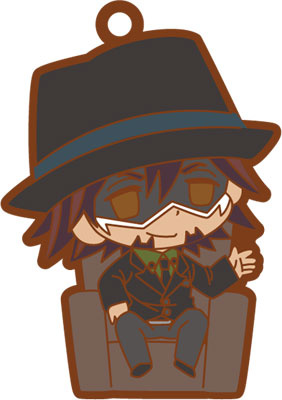 main photo of TIGER & BUNNY chipicco Trading Rubber Strap: Kaburagi T. Kotetsu Ver. B