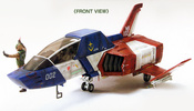 photo of U.C. Hard Graph E.F.S.F. Multidiscipline Light Fighter FF-X7 Core Fighter