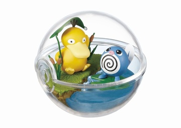 main photo of Pokemon Terrarium Collection 2: Psyduck & Poliwag