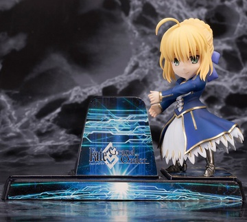 main photo of Smartphone Stand Bishoujo Character Collection No.17 Saber/Altria Pendragon
