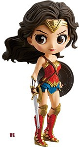 main photo of Justice League Q Posket Wonder Woman Special Color Ver.