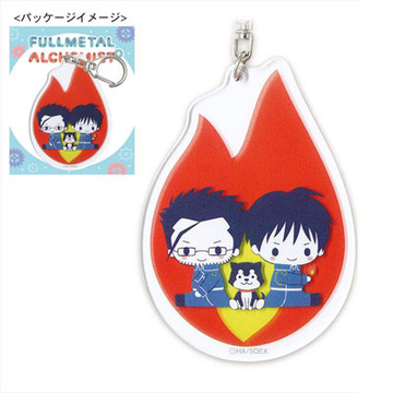 main photo of Sanrio x Fullmetal Alchemist Acrylic Keychain: Mustang and Hughes