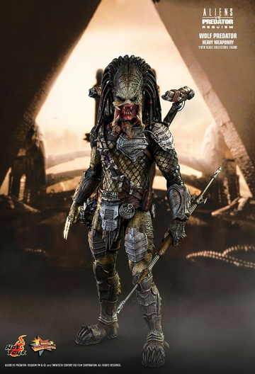 main photo of Movie Masterpiece Wolf Predator (Heavy Weaponry)