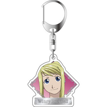 main photo of Fullmetal Alchemist Brotherhood Acrylic Keychain: Winry Rockbell