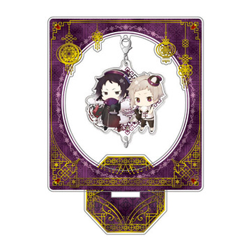 main photo of Bungo Stray Dogs DEAD APPLE Chain Collection Stand Set: China ver. Nakajima & Akutagawa