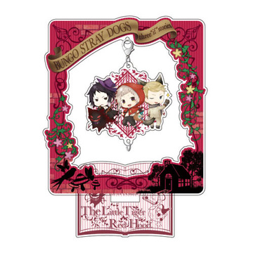 main photo of Bungo Stray Dogs DEAD APPLE Chain Collection Stand Set: Fairy Tale ver. Little Red Riding Hood Nakajima & Akutagawa & Fitzgerald