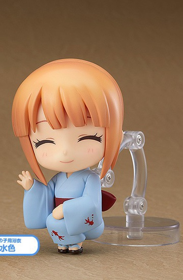 main photo of Nendoroid More Dress Up Yukatas: Female Yukata Light Blue Ver.