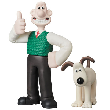 main photo of Ultra Detail Figure No.424 UDF Aardman Animations #1 Wallace and Gromit
