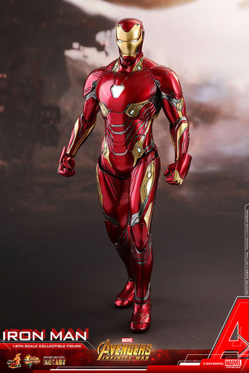 main photo of Movie Masterpiece Iron Man Mark. 50