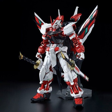 main photo of PG MBF-P02KAI Gundam Astray Red Frame Custom