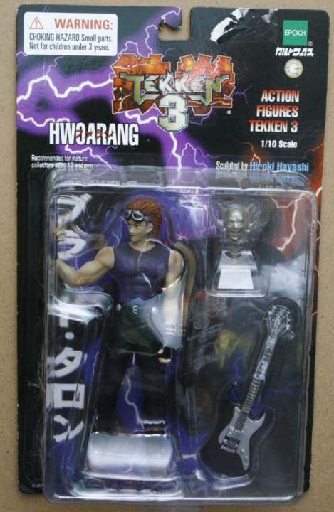 Action Figures Tekken 3 Hwoarang My Anime Shelf
