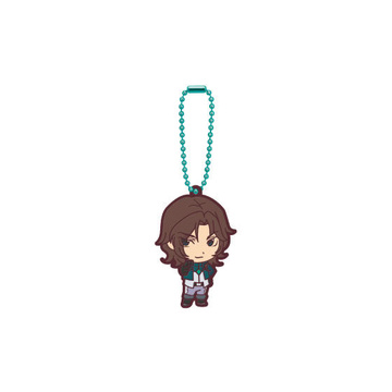 main photo of Mobile Suit Gundam 00 Capsule Rubber Mascot: Lockon Stratos (Lyle)