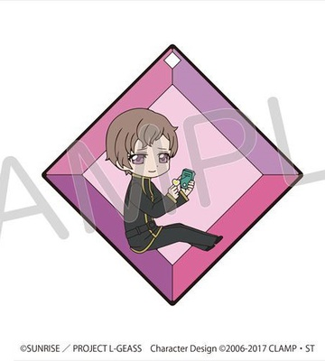 main photo of Code Geass: Lelouch of the Rebellion III Koudou in cube Rubber Strap: Rolo Lamperouge