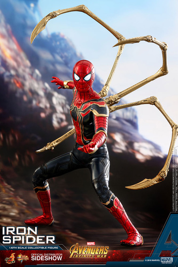 main photo of Movie Masterpiece Iron Spider