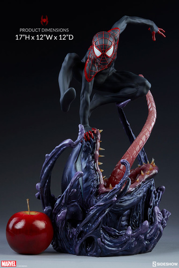 main photo of Premium Format Figure Spider-Man Miles Morales