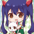 Gyugyutto Acrylic Keychain FAIRY TAIL: Wendy Marvell & Charle