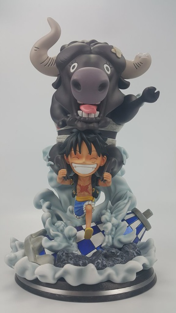 main photo of SD Monkey D. Luffy with Brutal Bull