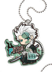 main photo of Pita! Deforme Bleach Acrylic Keychain: Hitsugaya Toshiro