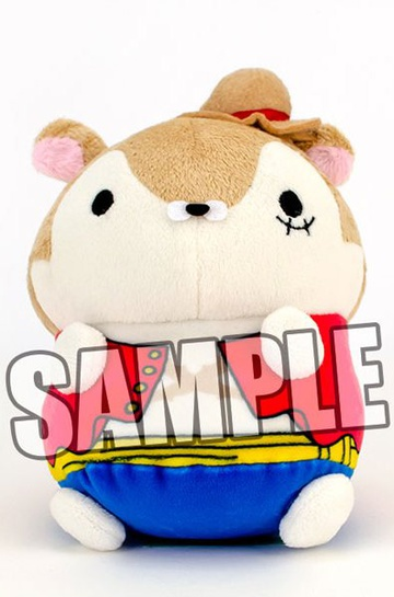 main photo of MochiMochi Hamster Collection ONE PIECE: Monkey D. Luffy