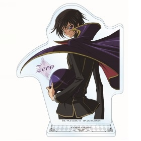 main photo of Code Geass: Hangyaku no Lelouch Acrylic Plate with Stand ~The LEGEND of GEASS~: Zero