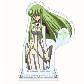 main photo of Code Geass: Hangyaku no Lelouch Acrylic Plate with Stand ~The LEGEND of GEASS~: C.C.