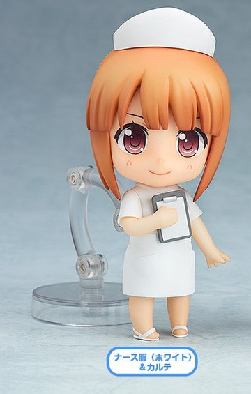 main photo of Nendoroid More Dress Up Clinic: Nurse with Clipboard White Ver.