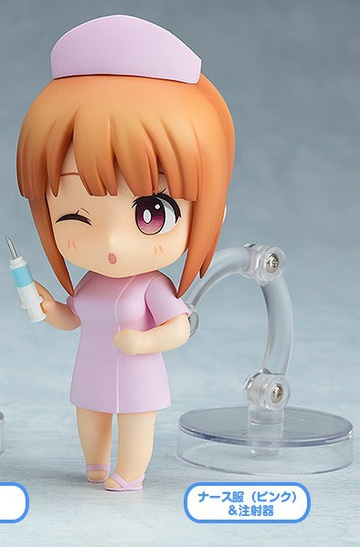 main photo of Nendoroid More Dress Up Clinic: Nurse with a Syringe Pink Ver.