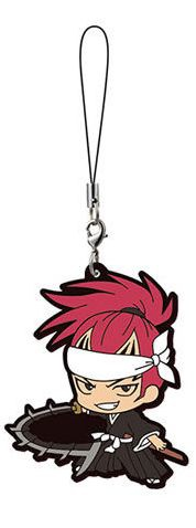 main photo of Bleach Capsule Rubber Mascot: Abarai Renji