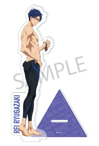 main photo of Free! -Dive to the Future- Acrylic Stand: Ryuugazaki Rei