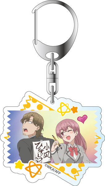 main photo of Akkun to Kanojo Acrylic Keychain: Irie Konagi & Kubomura Takumi