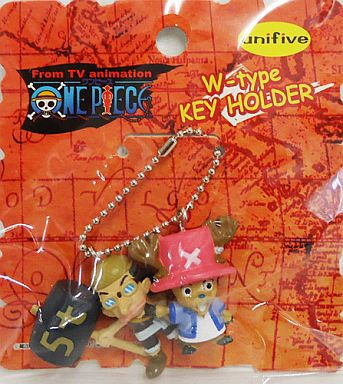 main photo of One Piece W-Type Key Holder Part 5: Usopp and Chopper