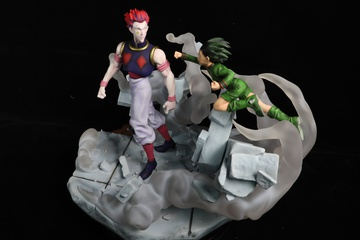 main photo of Gon VS Hisoka