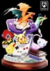 photo of Nintendo Game Boy with Charizard, Pikachu, Mew Resin