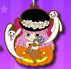 main photo of Mugiwara Store One Piece Halloween 2018 Keychain: Perona