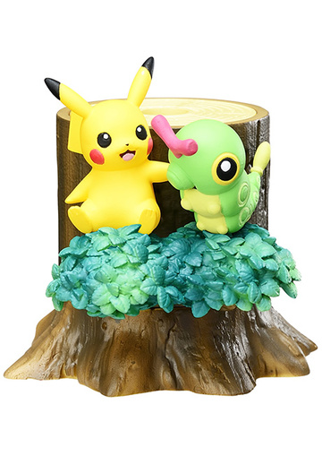 main photo of Atsumete! Kasanete! Pokémon no Mori 2 Nagareboshi no Yoru: Pikachu & Caterpie