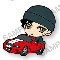 main photo of Detective Conan PitaColle Rubber Strap Vol.4: Akai Shuuichi