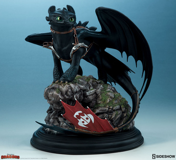 main photo of Toothless Statue